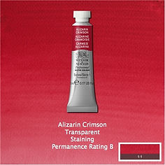 Winsor and Newton Alizarin Crimson Professional Watercolour