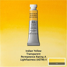 Winsor and Newton Indian Yellow Professional Watercolour