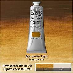 Winsor and Newton Raw Umber Light Professional Acrylic
