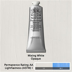 Winsor and Newton Mixing White Professional Acrylic