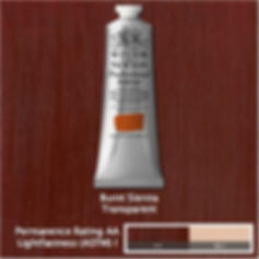 Winsor and Newton Burnt Sienna Professional Acrylic
