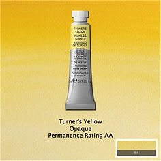 Winsor and Newton Turner's Yellow Professional Watercolour