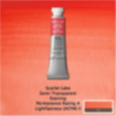 Winsor and Newton Scarlet Lake Professional Watercolour