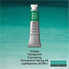 Winsor and Newton Viridian Professional Watercolour
