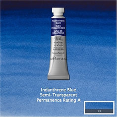 Winsor and Newton Indanthrene Blue Professional Watercolour