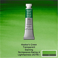 Winsor and Newton Hooker's Green Professional Watercolour