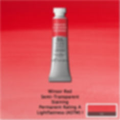 Winsor and Newton Winsor Red Professional Watercolor