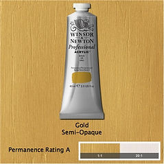 Winsor and Newton Gold Professional Acrylic