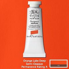 Orange Lake Deep Designers Gouache