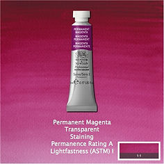 Winsor and Newton Permanent Magenta Professional Watercolour