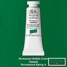Permanent Middle Green Designers Gouache