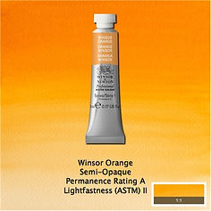 Winsor and Newton Winsor Orange Professional Watercolour