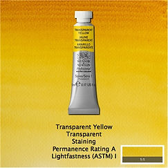 Winsor and Newton Transparent Yellow Professional Watercolour