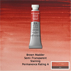 Winsor and Newton Brown Madder Professional Watercolour