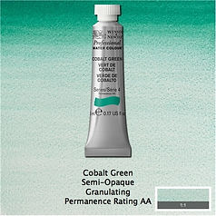 Winsor and Newton Cobalt Green Professional Watercolour