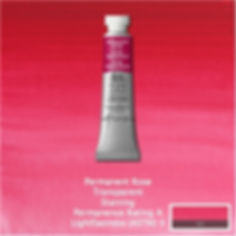 Winsor and Newton Permanent Rose Professional Watercolor