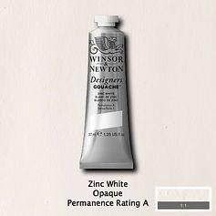 Zinc White Designers Gouache