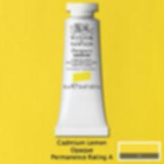 Cadmium Lemon Designers Gouache