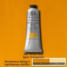 Winsor and Newton Azo Yellow Deep Professional Acrylic