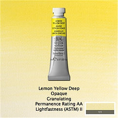 Winsor and Newton Lemon Yellow Deep Professional Watercolour