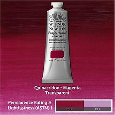 Winsor and Newton Quinacridone Magenta Professional Acrylic