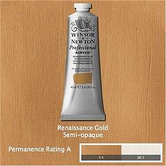 Winsor and Newton Renaissance Gold Professional Acrylic