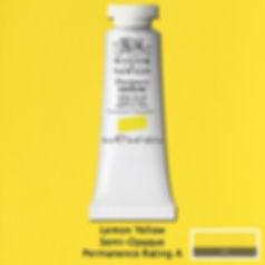 Winsor and Newton Lemon Yellow Designers Gouache