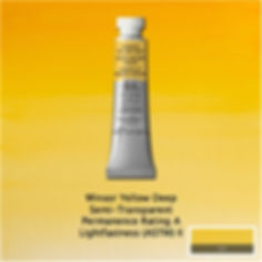 Winsor and Newton Winsor Yellow Deep Professional Watercolours
