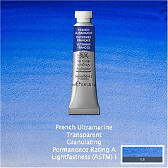 Winsor and Newton French Ultramarine Professional Watercolour