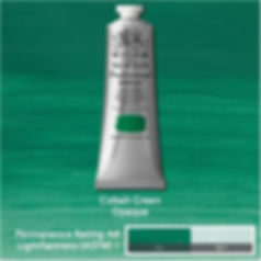 Winsor and Newton Cobalt Green Professional Acrylic