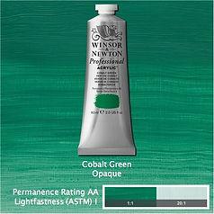 Winsor and Newton Cobalt Green Professional Acrylic