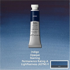 Winsor and Newton Indigo Professional Watercolour
