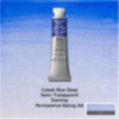Winsor and Newton Cobalt Blue Deep Professional Watercolour