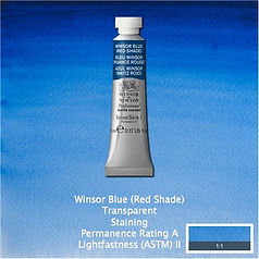 Winsor and Newton Winsor Blue Red Shade Professional Watercolour
