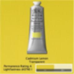 Winsor and Newton Cadmium Lemon Professional Acrylic