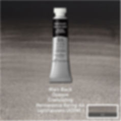 Winsor and Newton Mars Black Professional Watercolour