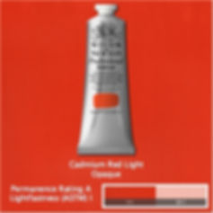 Winsor and Newton Cadmium Red Light Professional Acrylic