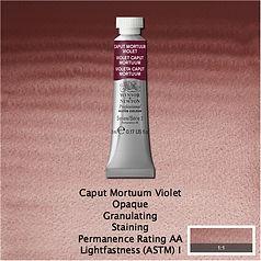 Winsor and Newton Caput Mortuum Violet Professional Watercolour