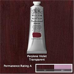 Winsor and Newton Perylene Violet Professional Acrylic