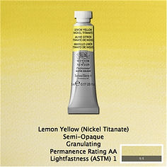 Lemon Yellow Professional Watercolours