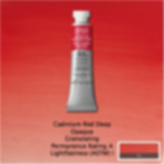 Winsor and Newton Cadmium Red Deep Professional Watercolour