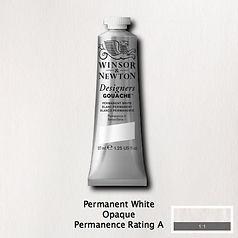 Permanent White Designers Gouache