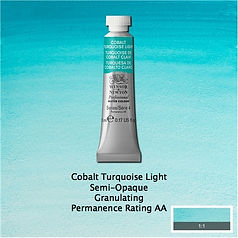 Winsor and Newton Cobalt Turquoise Light Professional Watercolour