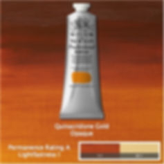 Winsor and Newton Quinacridone Gold Professional Acrylic
