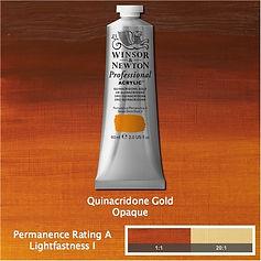 Winsor and Newton Quinacridone Gold Professional Acrylic