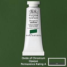 Oxide of Chromium Designers Gouache