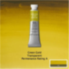 Winsor and Newton Green Gold Professiona Watercolour