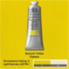 Winsor and Newton Bismuth Yellow Professional Acrylic