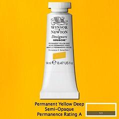 Permanent Yellow Deep Designers Gouache