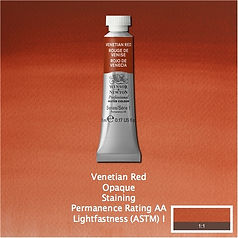 Winsor and Newton Venetian Red Professional Watercolour